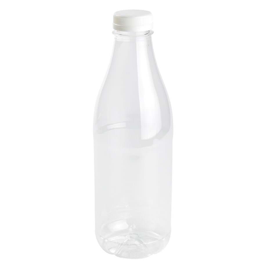 Botella rellenable de rPET, transparente, tapa blanca, 1000 ml Las botellas de Bionatic Spain son 100% ecológicas, biodegradables, sostenibles y desechables. Biopacksystems es ahora Bionatic Spain, especialistas en envases ecológicos para alimentación desde 2010. La primera tienda online de envases ecológicos, biodegradables y compostables de calidad. Bionatic Spain ofrece una gama de productos ecológicos y 100% biodegradables a empresas de catering, restaurantes, truck food. Los envases de Bionatic Spain, son perfectos para take away, para llevar la comida que sobra en el restaurante y para comida para llevar en general. Los productos de biopacksystems y Bionatic Spain, son de calidad garantizada y con todos los certificados que exige la comunidad europea.