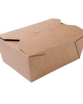 Caja de cartón natural biodegradable, 2500 ml Las cajas de Bionatic Spain son 100% ecológicas, biodegradables, sostenibles y desechables. Biopacksystems es ahora Bionatic Spain, especialistas en envases ecológicos para alimentación desde 2010. La primera tienda online de envases ecológicos, biodegradables y compostables de calidad. Bionatic Spain ofrece una gama de productos ecológicos y 100% biodegradables a empresas de catering, restaurantes, truck food. Los envases de Bionatic Spain, son perfectos para take away, para llevar la comida que sobra en el restaurante y para comida para llevar en general. Los productos de biopacksystems y Bionatic Spain, son de calidad garantizada y con todos los certificados que exige la comunidad europea.