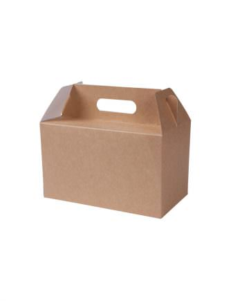 """Caja bio de cartón kraft """"L"""", 25 x 15 x 15 cm Las cajas de Bionatic Spain son 100% ecológicas, biodegradables, sostenibles y desechables. Biopacksystems es ahora Bionatic Spain, especialistas en envases ecológicos para alimentación desde 2010. La primera tienda online de envases ecológicos, biodegradables y compostables de calidad. Bionatic Spain ofrece una gama de productos ecológicos y 100% biodegradables a empresas de catering, restaurantes, truck food. Los envases de Bionatic Spain, son perfectos para take away, para llevar la comida que sobra en el restaurante y para comida para llevar en general. Los productos de biopacksystems y Bionatic Spain, son de calidad garantizada y con todos los certificados que exige la comunidad europea."""