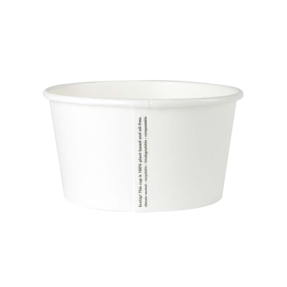 Tarrina universal de cartón biodegradable blanco, 300 ml Las tarrinas de helado de Bionatic Spain son 100% ecológicas, biodegradables, sostenibles y desechables. Biopacksystems es ahora Bionatic Spain, especialistas en envases ecológicos para alimentación desde 2010. La primera tienda online de envases ecológicos, biodegradables y compostables de calidad. Bionatic Spain ofrece una gama de productos ecológicos y 100% biodegradables a empresas de catering, restaurantes, truck food. Los envases de Bionatic Spain, son perfectos para take away, para llevar la comida que sobra en el restaurante y para comida para llevar en general. Los productos de biopacksystems y Bionatic Spain, son de calidad garantizada y con todos los certificados que exige la comunidad europea.