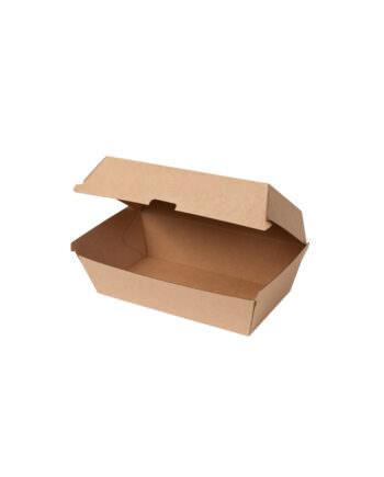 Caja de cartón kraft biodegradable, 13 x 24,8 x 7,5 cm Las cajas de Bionatic Spain son 100% ecológicas, biodegradables, sostenibles y desechables. Biopacksystems es ahora Bionatic Spain, especialistas en envases ecológicos para alimentación desde 2010. La primera tienda online de envases ecológicos, biodegradables y compostables de calidad. Bionatic Spain ofrece una gama de productos ecológicos y 100% biodegradables a empresas de catering, restaurantes, truck food. Los envases de Bionatic Spain, son perfectos para take away, para llevar la comida que sobra en el restaurante y para comida para llevar en general. Los productos de biopacksystems y Bionatic Spain, son de calidad garantizada y con todos los certificados que exige la comunidad europea.