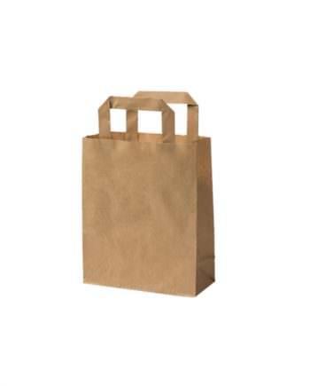 Bolsa bio de papel kraft reciclado S, 18 x 8 x 22 cm Las bolsas de Biopacksystems son completamente ecológicas, biodegradables y sostenibles. Biopacksystems es ahora Bionatic Spain, especialistas en envases ecológicos para alimentación desde 2010. La primera tienda online de envases ecológicos, biodegradables y compostables de calidad. Bionatic Spain ofrece una gama de productos ecológicos y 100% biodegradables a empresas de catering, restaurantes, truck food. Los envases de Bionatic Spain, son perfectos para take away, para llevar la comida que sobra en el restaurante y para comida para llevar en general. Los productos de biopacksystems y Bionatic Spain, son de calidad garantizada y con todos los certificados que exige la comunidad europea.
