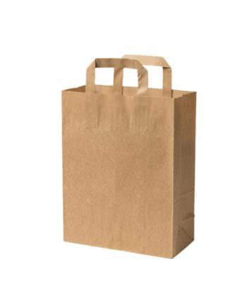Bolsa bio de papel kraft reciclado M, 22 x 10 x 28 cm Las bolsas de Biopacksystems son completamente ecológicas, biodegradables y sostenibles. Biopacksystems es ahora Bionatic Spain, especialistas en envases ecológicos para alimentación desde 2010. La primera tienda online de envases ecológicos, biodegradables y compostables de calidad. Bionatic Spain ofrece una gama de productos ecológicos y 100% biodegradables a empresas de catering, restaurantes, truck food. Los envases de Bionatic Spain, son perfectos para take away, para llevar la comida que sobra en el restaurante y para comida para llevar en general. Los productos de biopacksystems y Bionatic Spain, son de calidad garantizada y con todos los certificados que exige la comunidad europea.