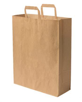 Bolsa bio de papel kraft reciclado XL, 32 x 12 x 40 cm Las bolsas de Biopacksystems son completamente ecológicas, biodegradables y sostenibles. Biopacksystems es ahora Bionatic Spain, especialistas en envases ecológicos para alimentación desde 2010. La primera tienda online de envases ecológicos, biodegradables y compostables de calidad. Bionatic Spain ofrece una gama de productos ecológicos y 100% biodegradables a empresas de catering, restaurantes, truck food. Los envases de Bionatic Spain, son perfectos para take away, para llevar la comida que sobra en el restaurante y para comida para llevar en general. Los productos de biopacksystems y Bionatic Spain, son de calidad garantizada y con todos los certificados que exige la comunidad europea.