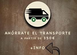 Bionatic Spain te ofrece ahorrarte el transporte para pedidos a partir de 350€. Nuestro servicio de entregas es alabado por nuestros clientes de envases ecológicos 100% bio, que suelen ser hostelerso, restaurantes y bares. La rapidez en la entrega y un servicio de transporte de calidad es lo que ofrecemos en Bionatic Spain a nuestros clientes